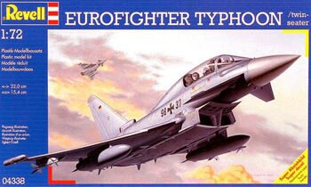 04338 Revell 1/72 Самолет Eurofighter Typhoon twin seater