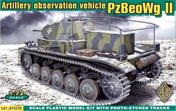 72270  Panzerbeobachtungswagen II artillery observation vehicle (PzBeoWg II)