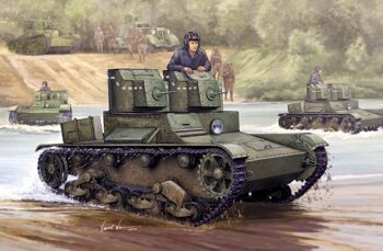 82494 Танк Soviet T-26 Light Infantry Tank Mod.1931 (Hobby Boss) 1/35