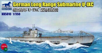 NB5010 1/350 German Long Range Submarine Type U-IXC