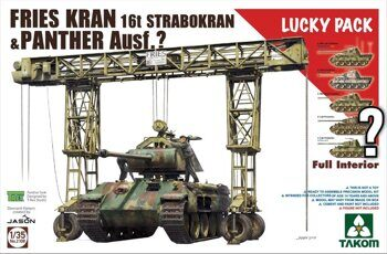 2108 1/35 FRIES KRAN I6t Strabokran, 1943/44 Production combined with Panther