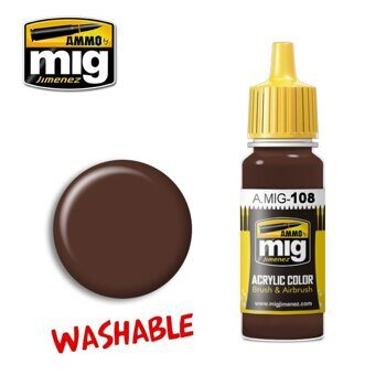 AMIG0108 WASHABLE MUD