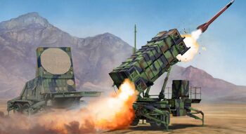 01022 US MIM-104C Patriot missile system (PAC-2) and AN / MPQ-53 radar