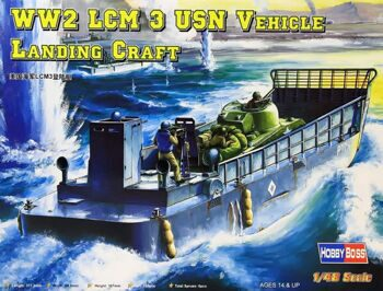 84817  LCM-3 Landing Craft 1/48