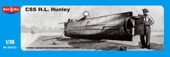 MM 35-013 1/35 Hunley, Confederate Submarine