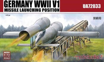 UA72033 Germany WWII V1 Missile launching position 2 in 1