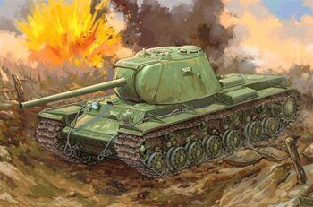 09544 Russian KV-3 Heavy Tank