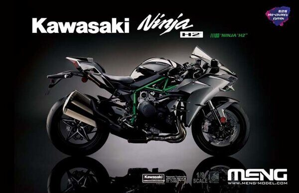 MT-002s 1/9 Kawasaki Ninja H2™ (Pre-colored Edition)