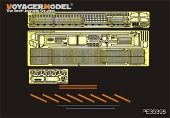 PE35396 1/35 WWII German StuG.III Ausf.F8 Fenders(For DRAGON 6644)