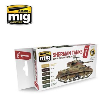 AMIG7169 WWII COMMONWEALTH SHERMAN