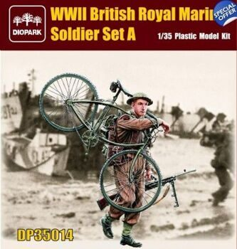 DP35014 1/35 British Royal Marines Soldier Set A