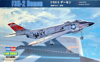 80364 Самолет  F3H-2  Demon (Hobby Boss) 1/48