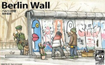 AF35317 Berlin Wall (3 units wall set)