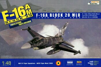 K48036 1/48 F-16A BLOCK 20 MLU TIGER MEET 2009