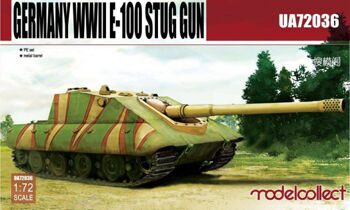 UA72036 Germany WWII E-100 Supper Heavy Jagdpanther