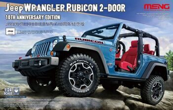 CS-003 1/24 Jeep Wrangler Rubicon 2-Door 10th Anniversary Edition