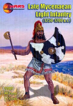 72087  Late Mycenaean light infantry