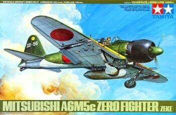 61027 1/48 A6M5c Type 52 Zero fighter (ZEKE) 7 фигур