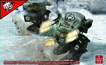 UA72195 Fist of War German WWII BLF-100A light fighting Mech