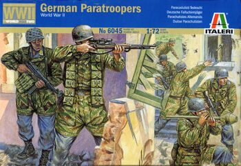 6045 German Paratroopers (WWII)