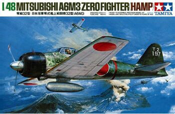 61025 1/48 A6M3 Type 32 Zero fighter