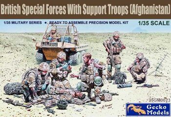 35GM0023 1/35 British Special Forces with Support Troops (Afghanistan)
