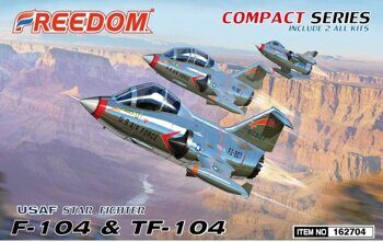 162704 F104J & TF104 USAF (Compact Series) include 2 All Kits