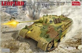 35A004 1/35 German Heavy Armored Reconaissance Tank LEOPARD VK1602