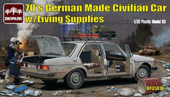 DP35018 1/35 German Made Civilian Car w/Living Supplies (packed as 24 boxes in one carton)