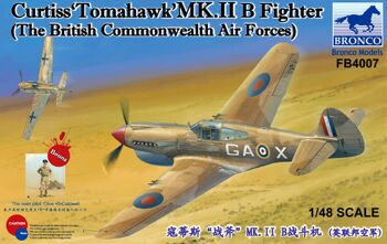 FB4007 1/48 Curtiss'Tomahawk'MK.II B Fighter ?The British Commonwealth Air Forces?