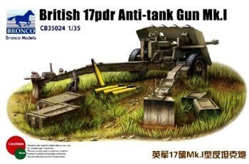 CB35024 British 17odr Anti-tank gun Mk.1