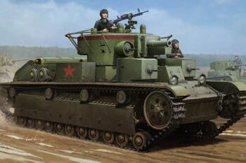 83852 Танк Soviet T-28 Medium Tank (Welded) (Hobby Boss) 1/35