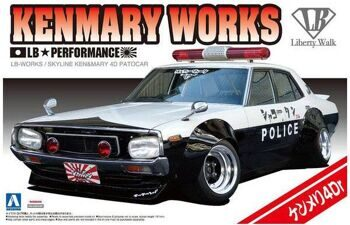 01068 1/24 LB WORKS KEN MARY 4Dr PATROL CAR