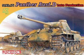 7506 1/72 Panther Ausf.D Late Production