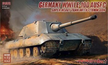 UA72089 Germany WWII E-100 Heavy Tank Ausf. C
