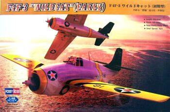 80326 Самолет F4F-3 early Wildcat (Hobby Boss) 1/48
