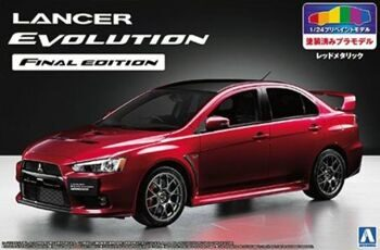 05089 1/24 LANCER EVOLUTION X FINAL EDITION (RED-META/2TONE)Provisionally