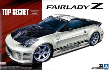 05364 TOP SECRET Z33 FAIRLADY Z '05 (NISSAN)