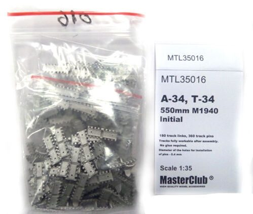 MTL35016 Tracks for T34 550mm M1940  Initial