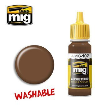 AMIG0107 WASHABLE EARTH