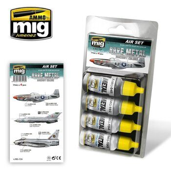 AMIG7216 BARE METAL AIRCRAFT COLORS
