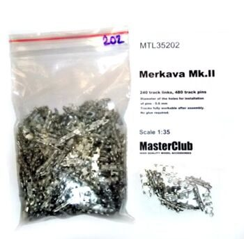 MTL35202 Tracks for Merkava Mk.II
