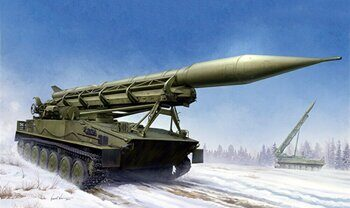 09545 2P16 Launcher with Missile of 2K6 Luna (FROG-5)
