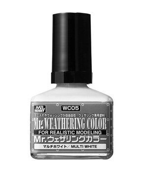 WC05 MR.WEATHERING Color - Multi White