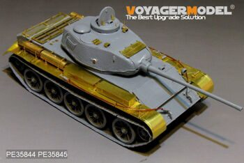 PE35844 WWII Russian T-44 Medium Tank Early Version Basic(For MINIART35193)