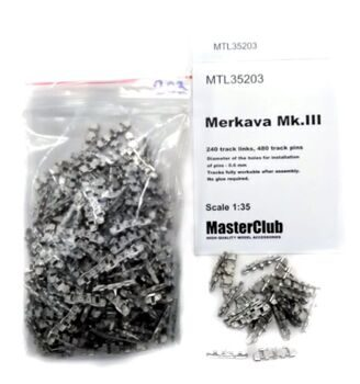 MTL35203 Tracks for Merkava Mk.III