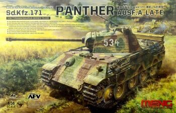 TS-035 1/35 German Medium tank Sd.Kfz.171 Panther Ausf.A LATE