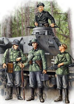 84413 German Infantry Set Vol.I (Early) 1/35