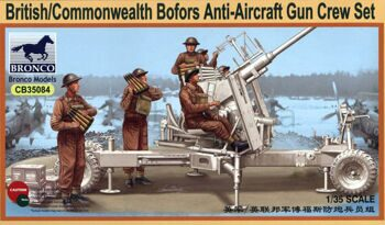 CB35084 British Commonwealth Bofors Gun crew