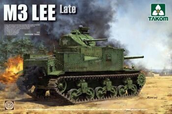 2087 1/35 US Medium Tank M3 Lee Late